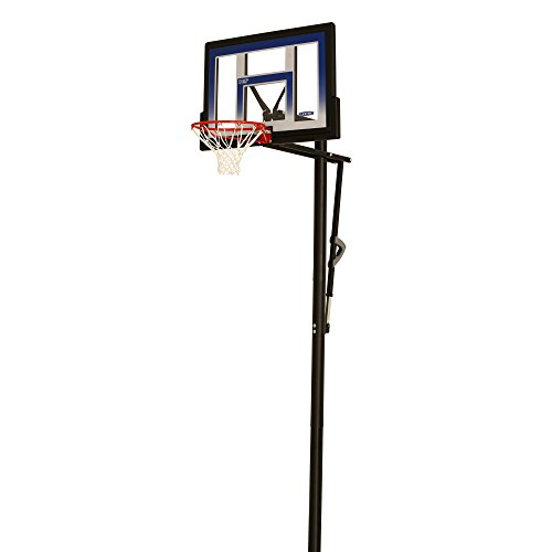 Lifetime 90020 Height Adjustable In Ground Basketball System, 48 Inch...