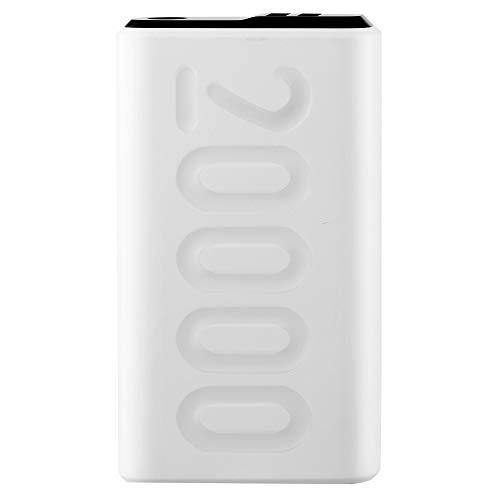 Ambrane 20000mAh Lithium Polymer Power Bank (Stylo-20K, White)