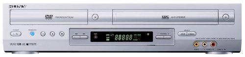 Sony SLV-D910 Videorekorder/DVD-Player Kombination Silber
