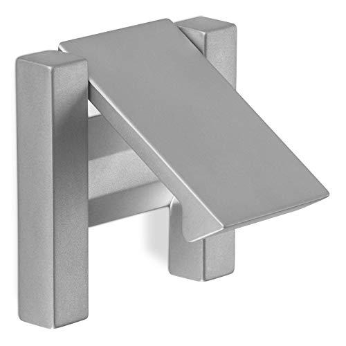 SCHÜCO ALU COMPETENCE Möbelgriff Henk Klapptürgriff Griff BA 32 mm Chrom matt Design trifft auf Funktion