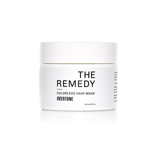 oVertone Haircare The Remedy | Hydrating Hair Mask with Shea Butter & Coconut Oil | Safe for All Hair Types | Vegan, Cruelty-Free