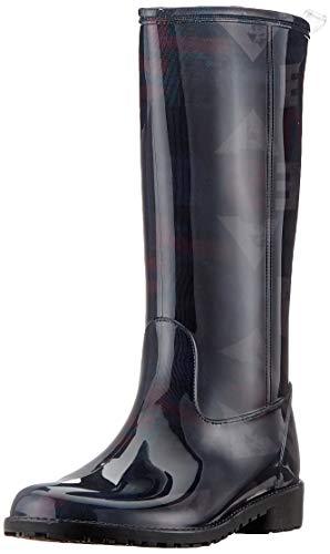 Desigual Shoes Mid Rain Boot, Botas de Agua Mujer, Negro (Black 2000), 38 EU