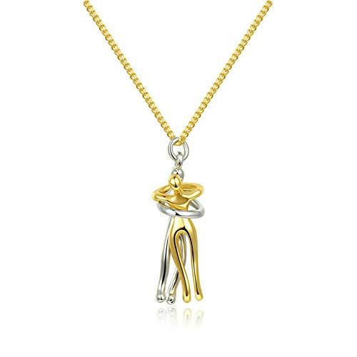 Collar de plata con colgante para siempre, para mujer, aniversario, cumpleaños, para niñas, novia, esposa, hija, mamá, C2