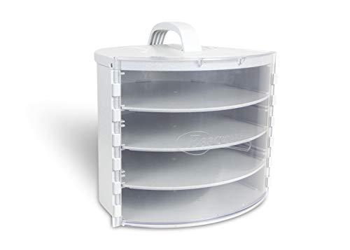 Pie SAFE - Pie, Cake, Dessert Travel & Storage Container, Adjustable Shelf