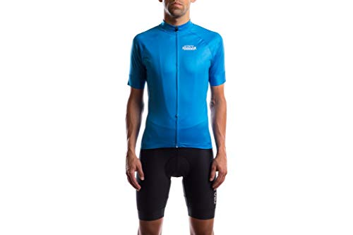 Buy Bargain State Bicycle Co. - Black Label Jersey (L, Laguna Blue)