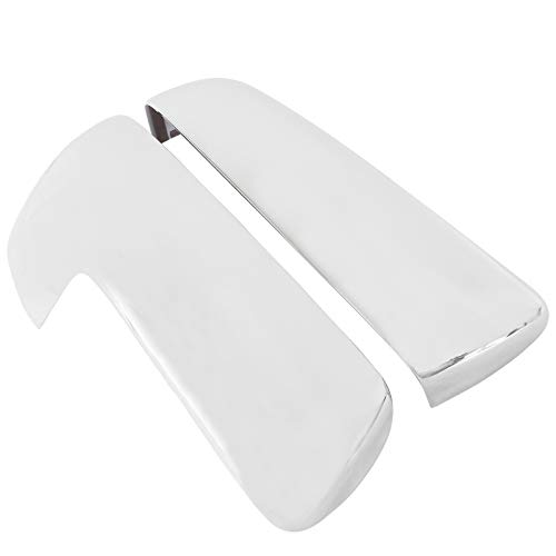 NewYall Pair Left and Right Chrome Top Half Side Door Mirror Covers