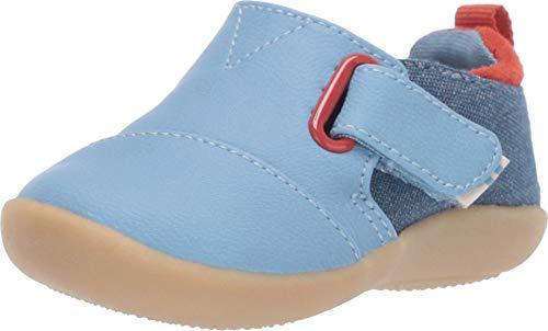 TOMS Sneaker First Walker Shoe, Blue, 5 US Unisex Little Kid