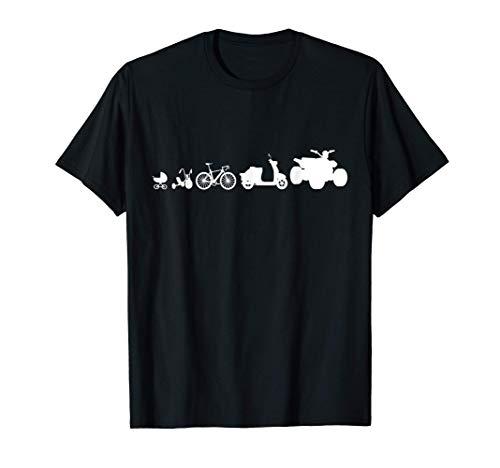Evolución del Quad y el Motocross Camiseta