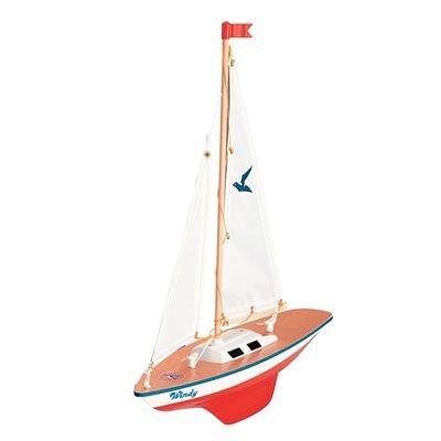 Paul Günther 1804 - Segelboot Windy, ca. 35 x 42 cm