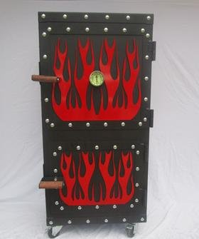 Read About Steel Mountain Grill Smoker BBQ barbecue 100% complete Grills