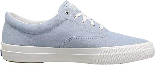 Keds Women's Anchor Chambray Sneakers Light Blue in Size 40.5 M