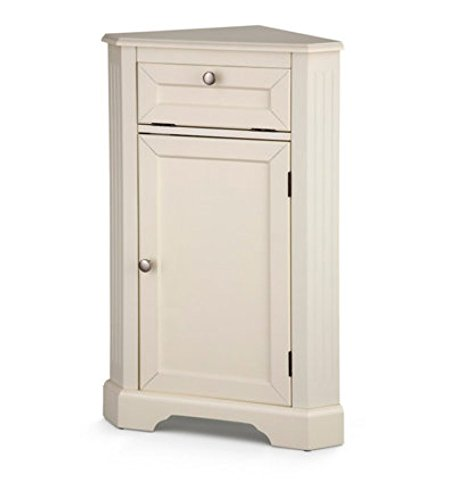 Weatherby Bathroom Corner Storage Cabinet Cream Buy Online In Pakistan At Desertcart Pk Productid 57524547