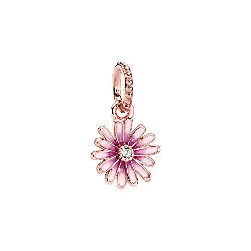 Pandora - Ciondolo a forma di margherita rosa