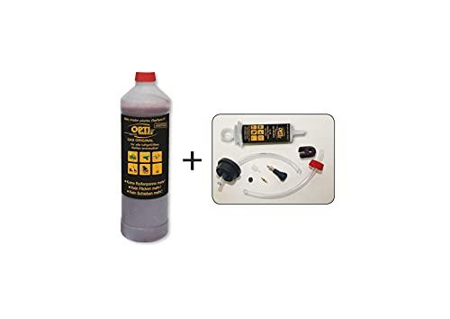 Optimaxx Reifendicht-Gel, 1-Liter-Flasche inkl. Profi-Einfüll-Zubehör