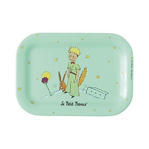 Petit Jour Paris mini-dienblad groen de kleine prinses – voor het serveren van een kleine thee zonder kruimels