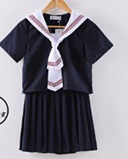 (SUNLIKE)セーラー服コスプレ⑦夏服半袖バージョン S~Mサイズ (M)