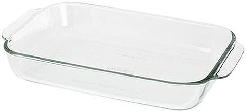 Pyrex 6001012 Bakeware 2-Quart Oblong Baking/Serving Dish, Clear, 2.6