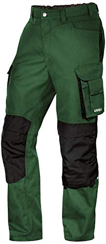 Uvex Perfexxion Premium 3852 Herren-Arbeitshose - Grüne Männer-Cargohose 54