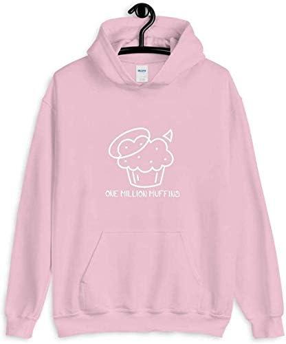 Badboyhalo 1 Million Muffins Cupcake Unisex Shirt Hoodie Tank Top Long Sleeves Sweatshirt Sweater product image