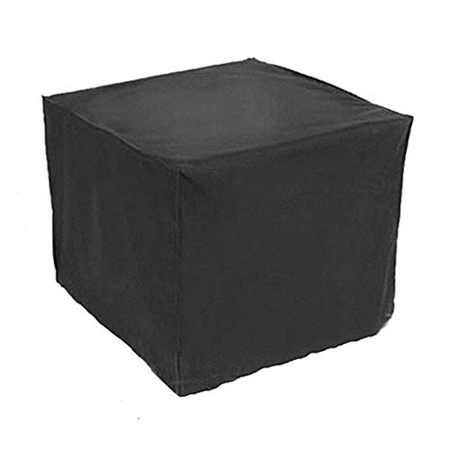 ZYF Garden Furniture Covers Table And Chairs Set Cover Waterproof Rectangular Dust-proof Cover,Black Patio Furniture Covers (Color : Black, Size : 213×132×74CM)