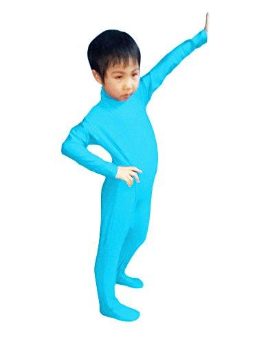 WOLF UNITARD Kids Long Sleeve Bodysuit Dancewear
