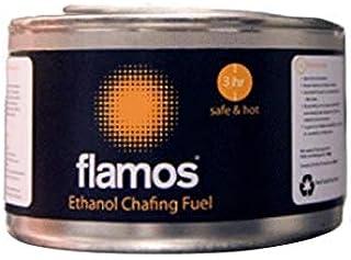 15 latas de flamos de etanol gel de combustible, 3 horas ...