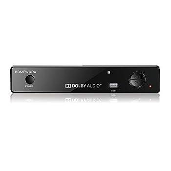 Mediasonic ATSC Digital Converter Box w/ TV Recording USB Multimedia Player and TV Tuner Function  HW-150PVR  Black