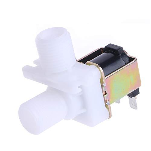 Fashion SHOP Valvula solenoide Interruptor de la válvula de solenoide DC 12V eléctrico magnético N/C Flujo de Agua de Entrada de Aire 1/2