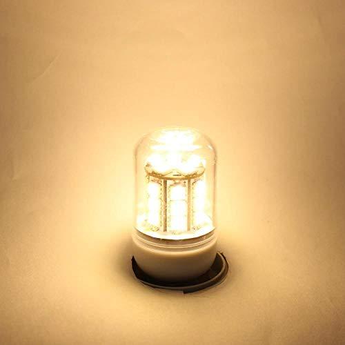 GHC LED Bombillas Llevó la luz del maíz de E14 E27 AC DC 10V a 30V 12 24 Voltios Milky lámpara de 12V 24V de Baja tensión de la lámpara Ahorro de energía for el hogar del Barco Enciende