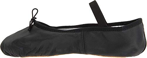 black split sole ballet shoes - 4