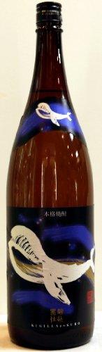 くじらのボトル 黒麹 芋 25° 1.8L