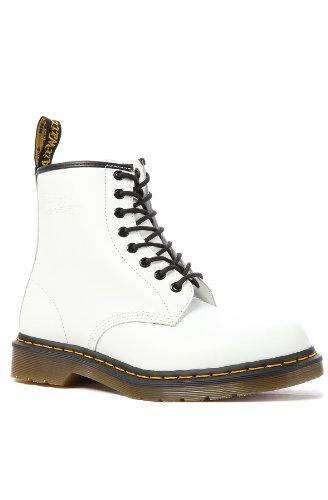 Dr. Martens 1460 Origineel, Unisex laarzen voor volwassenen 10.5 UK Kleur: wit