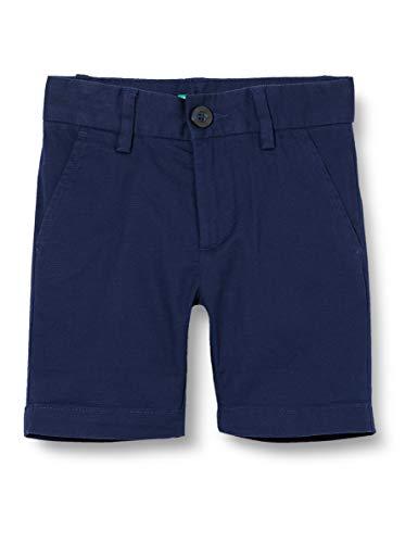 UNITED COLORS OF BENETTON Bermuda Short, Bleu (Blu 901), 86/92 (Taille Fabricant: 2Y) Bébé garçon