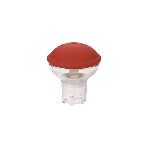 OXO Good Grips 11113700MLNYK Cupcake Corer Rouge/Transparent, Plastique, 6,35 x 10,8 x 19,69 cm