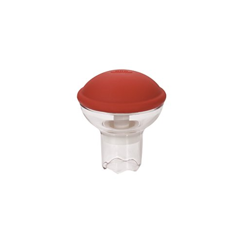 OXO 11113700MLNYK Cupcake Corer Rouge/Transparent, Plastique, 6,35 x 10,8 x 19,69 cm