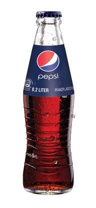 24 x Pepsi-Cola 0,2L Glasflasche in Originalkiste MEHRWEG