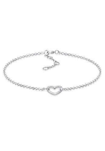 Elli Armband Herz Liebe Love 925 Sterling Silber