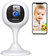 [New Version] APEMAN Baby Monitor WiFi Camera 1080P FHD Home Security Camera with Night..