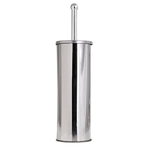 Maurer - Support de brosse de toilette en acier inoxydable chromé 7,5 x 22 cm