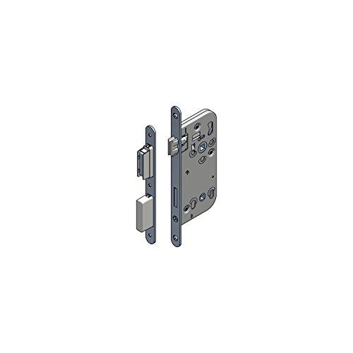 Magnetfallenschloss WG 340 RNM WC ohne Schließblech, DM 50, VK 8,5 mm, 1 Stück | Einsteckschloss / Magnetschloss / Beschläge
