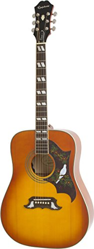 Epiphone EEDVVBNH1 Dove Pro E-Gitarre Violinburst