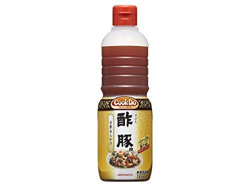 「Cook DoR」酢豚用1Lボトル×6