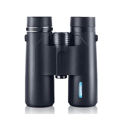 ZHIHUI Telescopios Astronomicos 10x42 Binoculares con Adaptador de Teléfono Inteligente Binoculares de Visión Nocturna de Baja Luz para Observación de Aves Conciertos de Caza de Viajes Catalejos