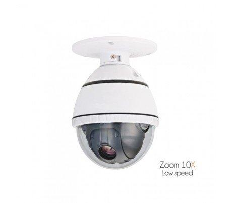 Sony CCD–Telecamera a cupola motorizzata con zoom 10x, Ottica Sony Effio EXview 700linee–dom-s19–72