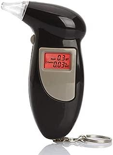 no incluidas 2 bater/ías AAA Laelr Alcohol/ímetro con 4 piezas de boquillas probador digital de alcohol port/átil Pantalla LCD Alcohol/ímetro de alcohol semiconductor para uso personal en el hogar