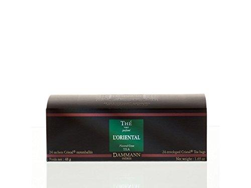 Dammann Freres Tee - L'ORIENTAL Grüner Tee - 24 Cristal Teabags