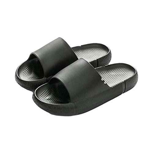 Chanclas Suave Mujer Sandalias Verano Nuevo 2021 Moda Antideslizante Zapatos de plataforma Cuña Playa Cómodo Zapatillas de baño de casa planas Sandalias de Punta Abierta casual Fiesta