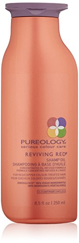 Pureology Reviving Red Shamp Oil, For Red & Copper Color Treated Hair , 8.5 oz