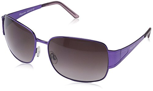 Burgmeister - Gafas de sol Rectangulares SBM118-154 para hombre, Purple