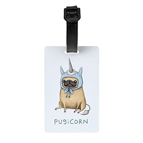 La mejor etiqueta Tumblr Dibujos Ideas Easy Luggage tag Protección de privacidad Bolsa de viaje etiqueta Maleta